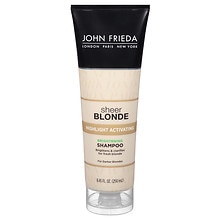 John Frieda Sheer Blonde Highlight Activating Enhancing Shampoo For Darker Bondes