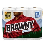 Save 15% on Brawny paper towels.