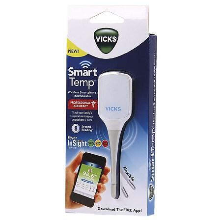 Vicks Smart Temp Wireless Smartphone Thermometer