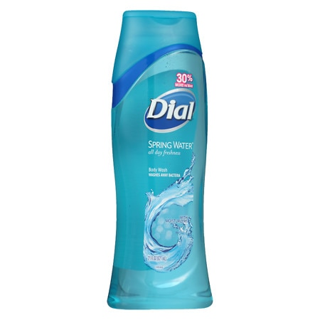 Dial All Day Freshness, Antibacterial Moisturizing Body Wash with Moisturizers Spring Water
