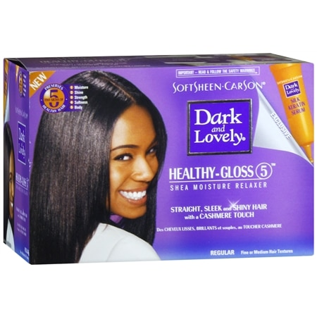 Dark and Lovely No-Lye Conditioning Relaxer System, Regular