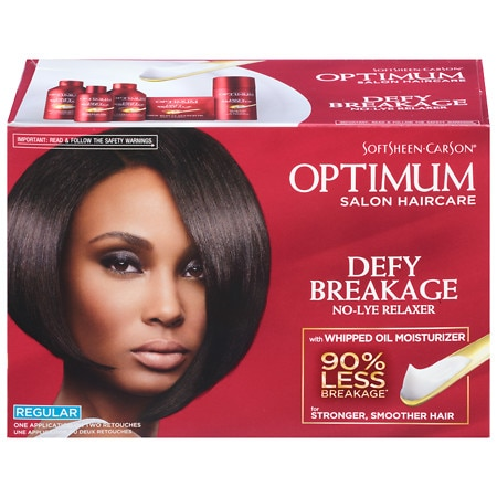 Optimum Care Salon Collection Optimum Care Anti-Breakage No-Lye Relaxer System, Regular