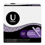 Natural Balance Security Tampons with Plastic Applicators Unscented