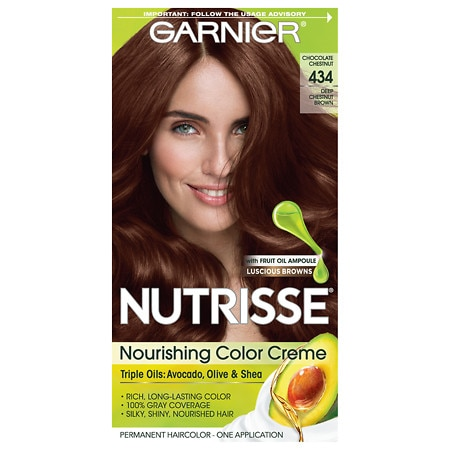 Garnier Nutrisse Ultra Color Permanent Haircolor Chestnut Brown  Walgreens
