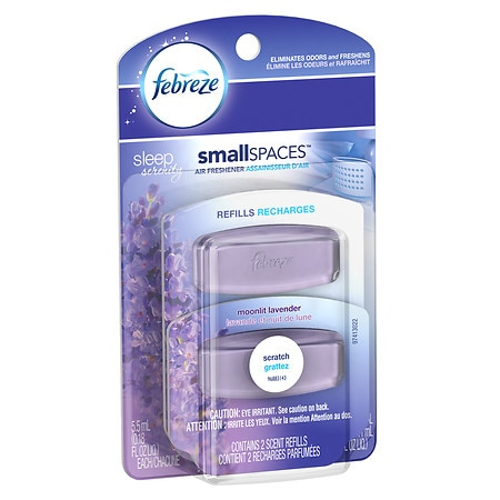 Febreze smallSPACES Sleep Serenity Scent Refills Air ...