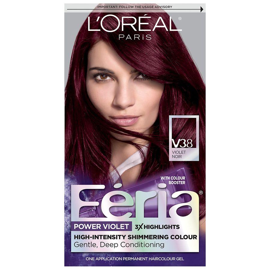 L Oreal Paris Feria Power Violet Permanent Haircolor