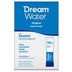 Get a FREE Dream Water Sleep Powder when you buy 1 Dream Water 12 ct