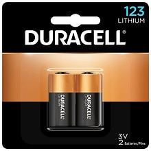 Duracell Ultra Lithium Camera Battery 123, 3 V