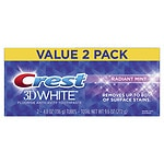 Online Coupon: Click & save $1.50 on select Crest twin pack toothpaste