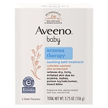 Aveeno Baby Baby Soothing Bath Treatment 5 PackSingle Use Packets Fragrance Free
