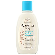 Aveeno Baby Baby Lightly Scented Wash & Shampoo Lightly Scented