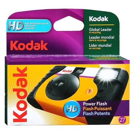 Kodak HD Power Flash Single Use Camera