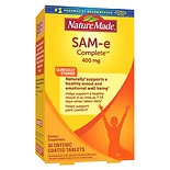 Nature Made SAM-e Complete 400 mg Dietary Supplement Tablets 400 mg