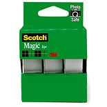 Scotch Magic Tape 3 Pack 3/4 in x 300 in