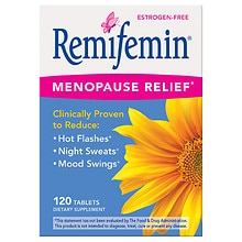 Menopause & Perimenopause Relief Dietary Supplement Tablets
