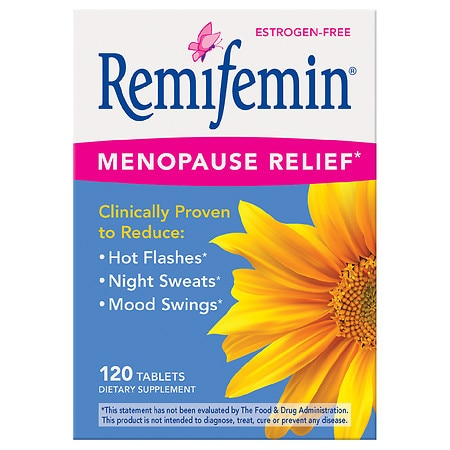 Enzymatic Therapy Menopause & Perimenopause Relief Dietary Supplement Tablets