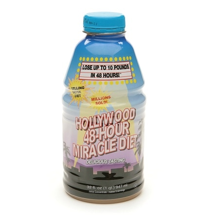 Hollywood Miracle Diet Hollywood 48-Hour Miracle Diet, 10-48 Diet Drink Health Fitness Skin Care Beauty Supply Deals