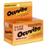 Ocuvite Lutein & Zeaxanthin Eye Vitamin & Mineral Supplement Capsules Capsules