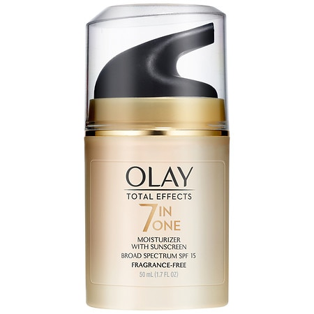 Olay Total Effects 7-in-1 Anti-Aging Moisturizer with Sunscreen Broad Spectrum SPF 15 Fragrance-Free