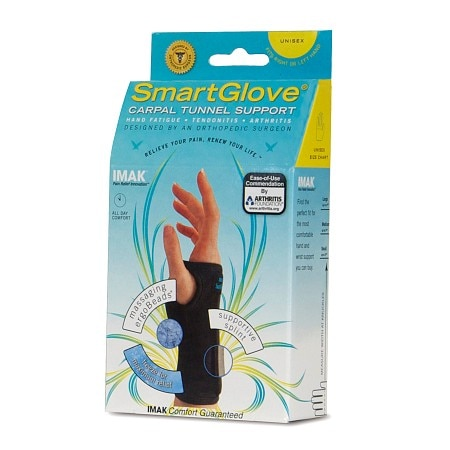 IMAK SmartGlove Unisex Carpal Tunnel Support Medium