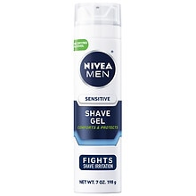 Nivea for Men Shaving Gel, Sensitive Skin