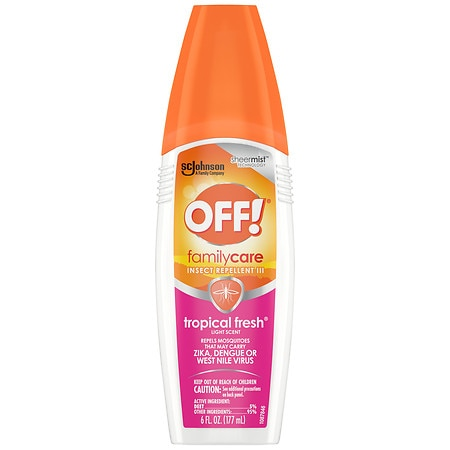 Off! Skintastic Insect Repellent for the Family, Spray Pump - 4.75% DEET