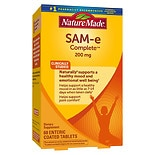 Nature Made SAM-e Complete Dietary Supplement Enteric Coated Tablets
