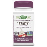 Nature's Way Cayenne & Garlic, Capsules