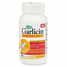 Nature's Way Garlicin HC, Healthy Circulation Formula, Enteric-Coated Tablets