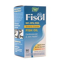 Nature's Way Fisol Fish Oil 500 mg Dietary Supplement Softgels