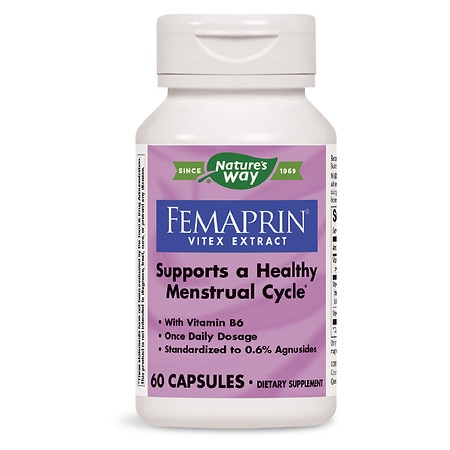 Nature's Way Femaprin, Vitex Extract, Capsules