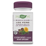 Nature's Way Leg Veins Dietary Supplement Capsules