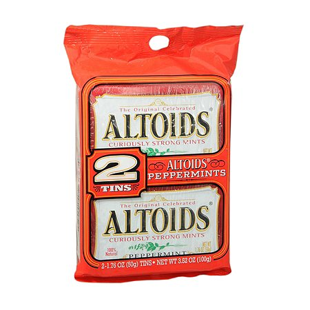 Altoids Mints Peppermint, 2 pk