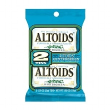 Altoids Twin Pack Mints Wintergreen