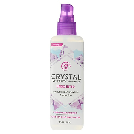 Crystal Deodorant Body Spray