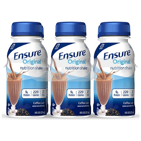 Ensure Nutrition Shake Coffee Latte