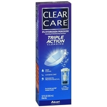 Triple Action Cleaning & Disinfecting Contact Solution Contact Lens