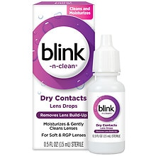 Blink-N-Clean Lens Drops For Soft Contact Lenses Contact Lens