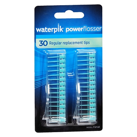 waterpik flosser regular replacement tips model ft 01 walgreens. Black Bedroom Furniture Sets. Home Design Ideas