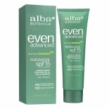 Alba Botanica Even Advanced Moisturizer, SPF 15 Sea Moss