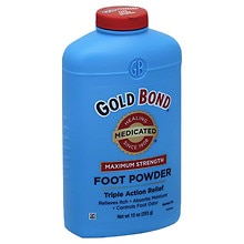 Medicated Foot Powder, Maximum Strength