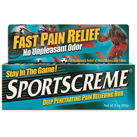 Sportscreme Deep Penetrating Pain Relieving Rub