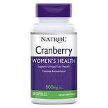 Natrol Cranberry 800 mg Dietary Supplement Capsules