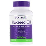 Natrol Flax Seed Oil, 1000mg, Softgels
