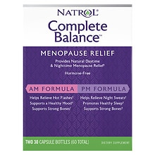 Complete Balance For Menopause AM & PM Dietary Supplement Capsules