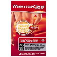 ThermaCare Air-Activated Heatwraps, Back & Hip, search for the best selling hot & cold item Large/Extra Large