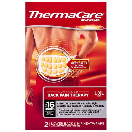 ThermaCare Air-Activated Heatwraps, Back & Hip Large/Extra Large