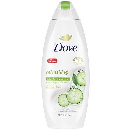 Dove go fresh Cool Moisture Body Wash with NutriumMoisture Cucumber & Green Tea