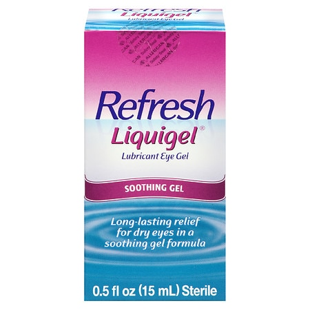 Refresh Liquigel, Lubricant Eye Gel