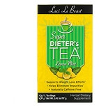 Laci Le Beau Super Dieter's Tea Dietary Supplement Tea Bags Lemon Mint